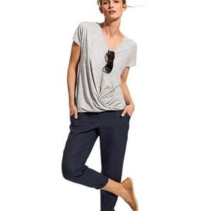Athleta gray coronado tee in XS